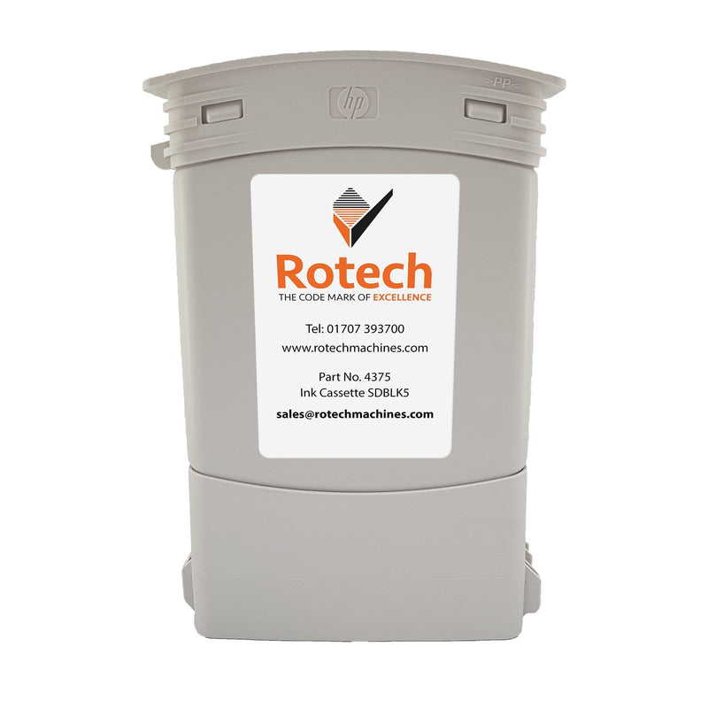 Rotech Ink Cassette - Bulk SDBLK5 400ml Inkjet Cartridges SKU 004375 Rotech Machines