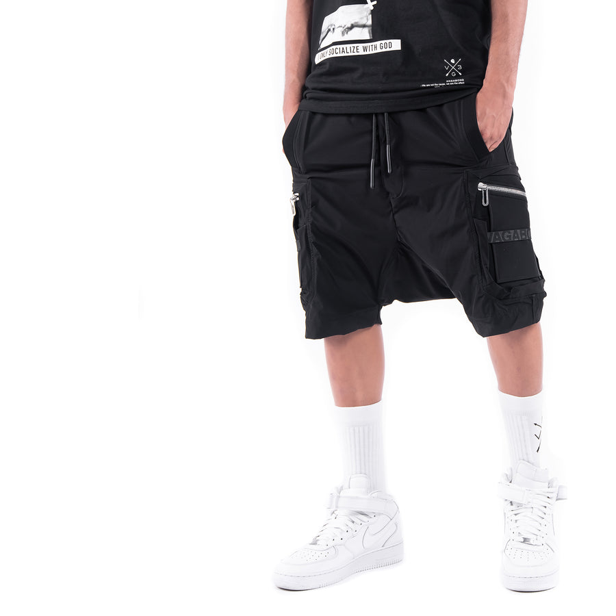 STRIPE CARGO SHORTS - B11787