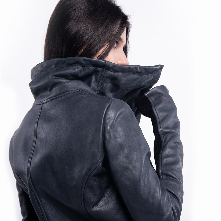 LEATHER JACKET - J21388