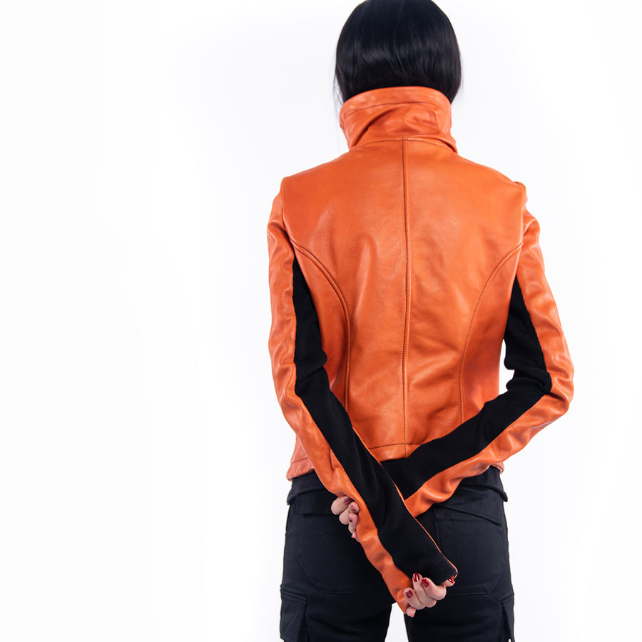 LEATHER JACKET - J21395