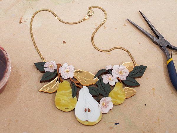 The Pear Tree Necklace