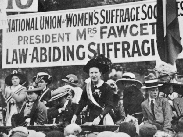 Celebrating The Centenary Of The Women's Vote
