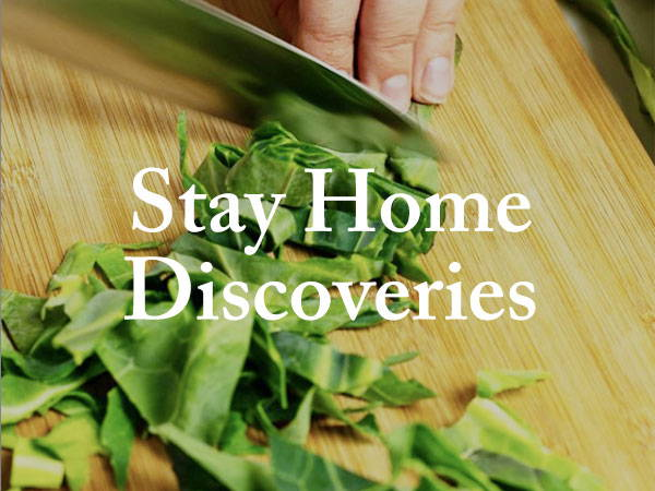 Stay Home Discoveries: Week 3