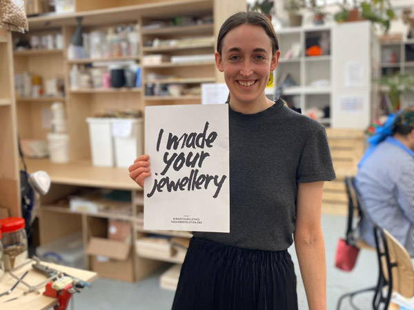 We made your jewellery! Fashion Revolution Week 2020