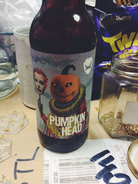 Wolf & Moon | Halloween | Pumpkin Beer | Pumpkin Head | Brewdog