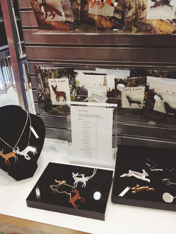 Wolf & Moon | Wellcome Collection | Stag Necklace