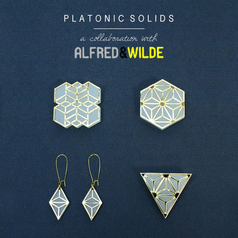Wolf & Moon x Alfred & Wilde | Platonic Solids