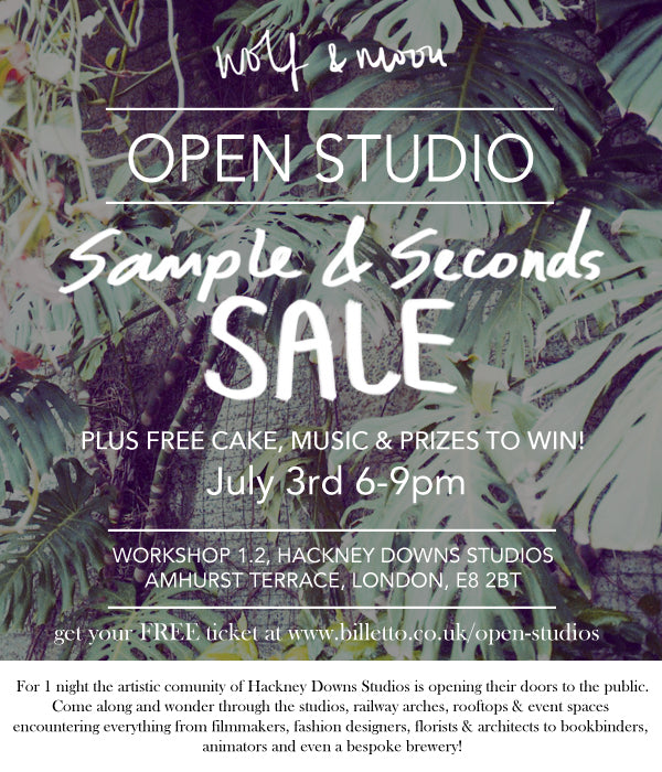 Wolf & Moon Sample Sale