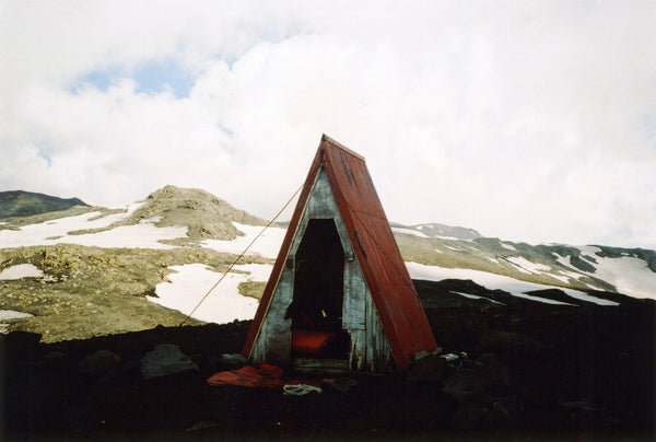 Wolf & Moon | Tent in the Mountains