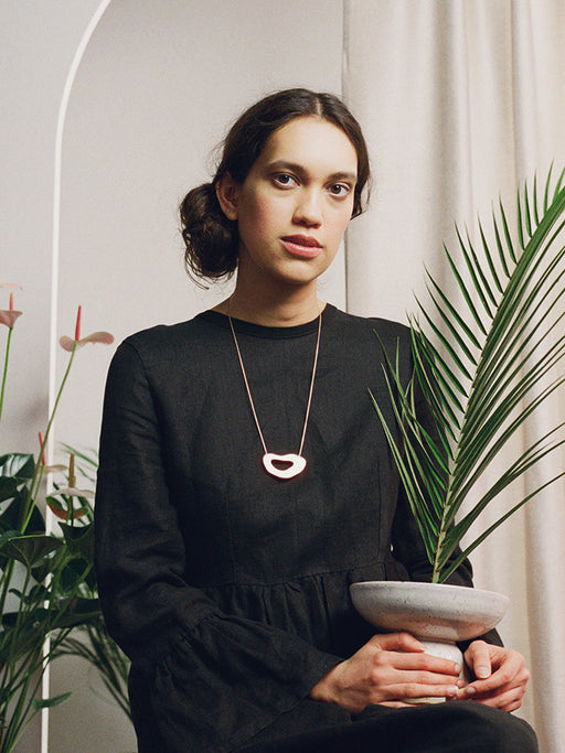 Hepworth II Necklace by Wolf & Moon