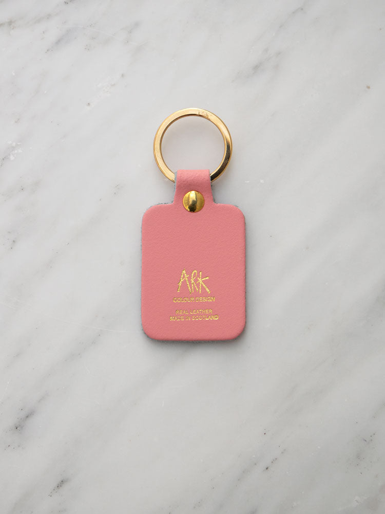 Boob Key Ring in Baby Pink