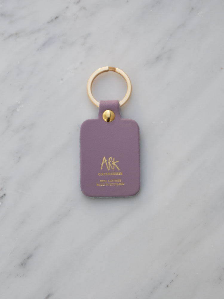 Boob Key Ring in Lilac