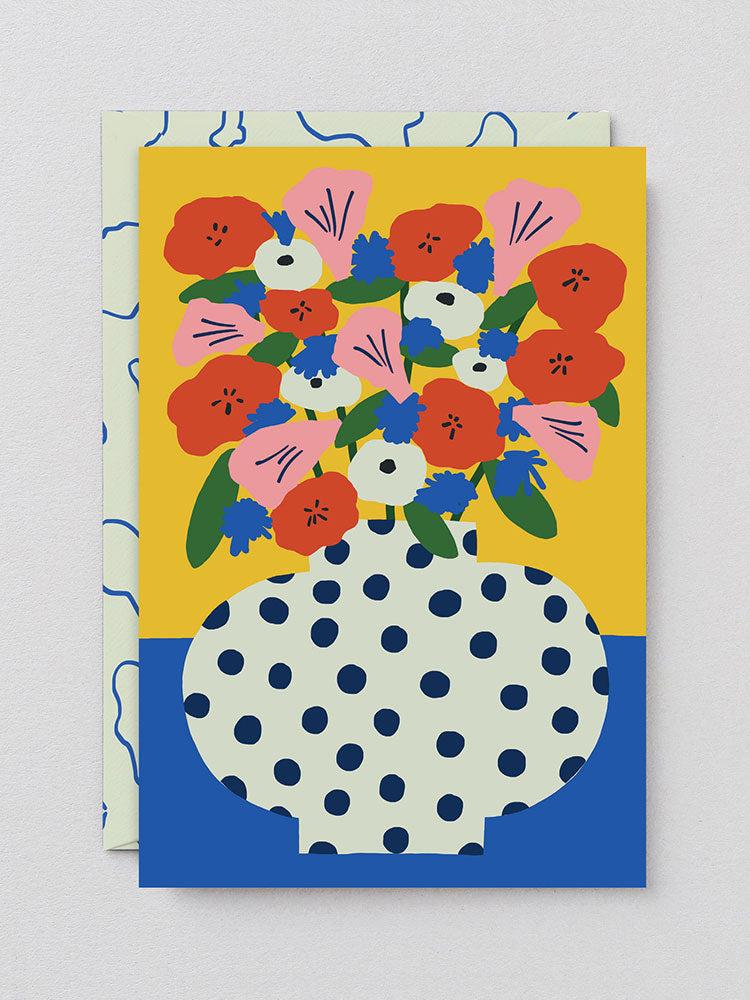 Flowers Greetings Card