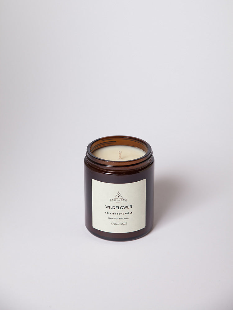 Wildflower Soy Wax Scented Candle