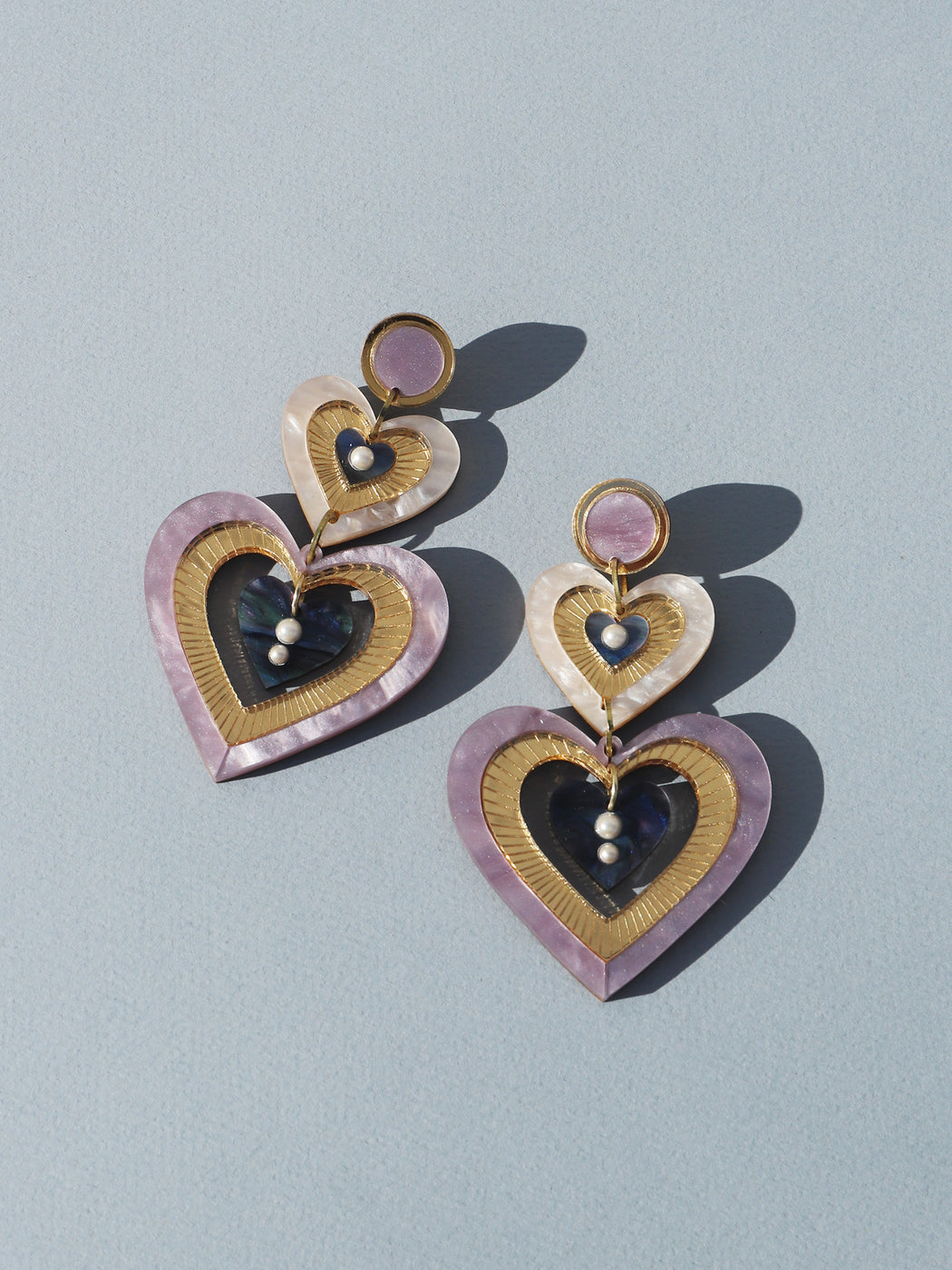 Sabine Earrings in Lilac *Limited Edition*