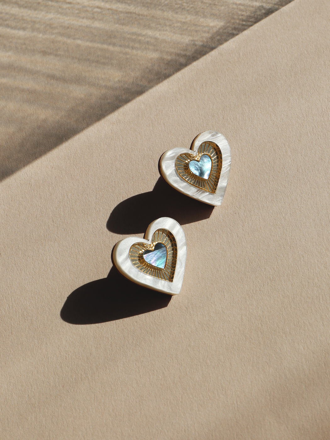 Ava Studs in Blue Mother of Pearl *Limited Edition*