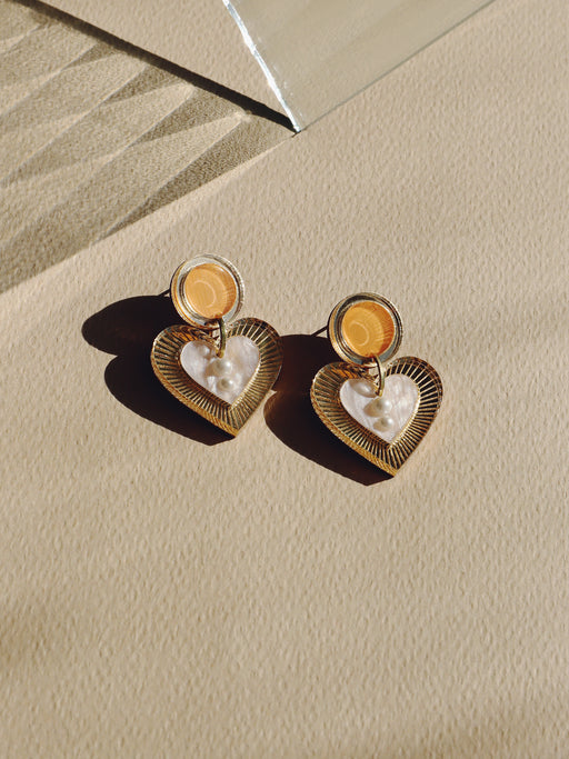 Lyra Earrings in Orange *Limited Edition*