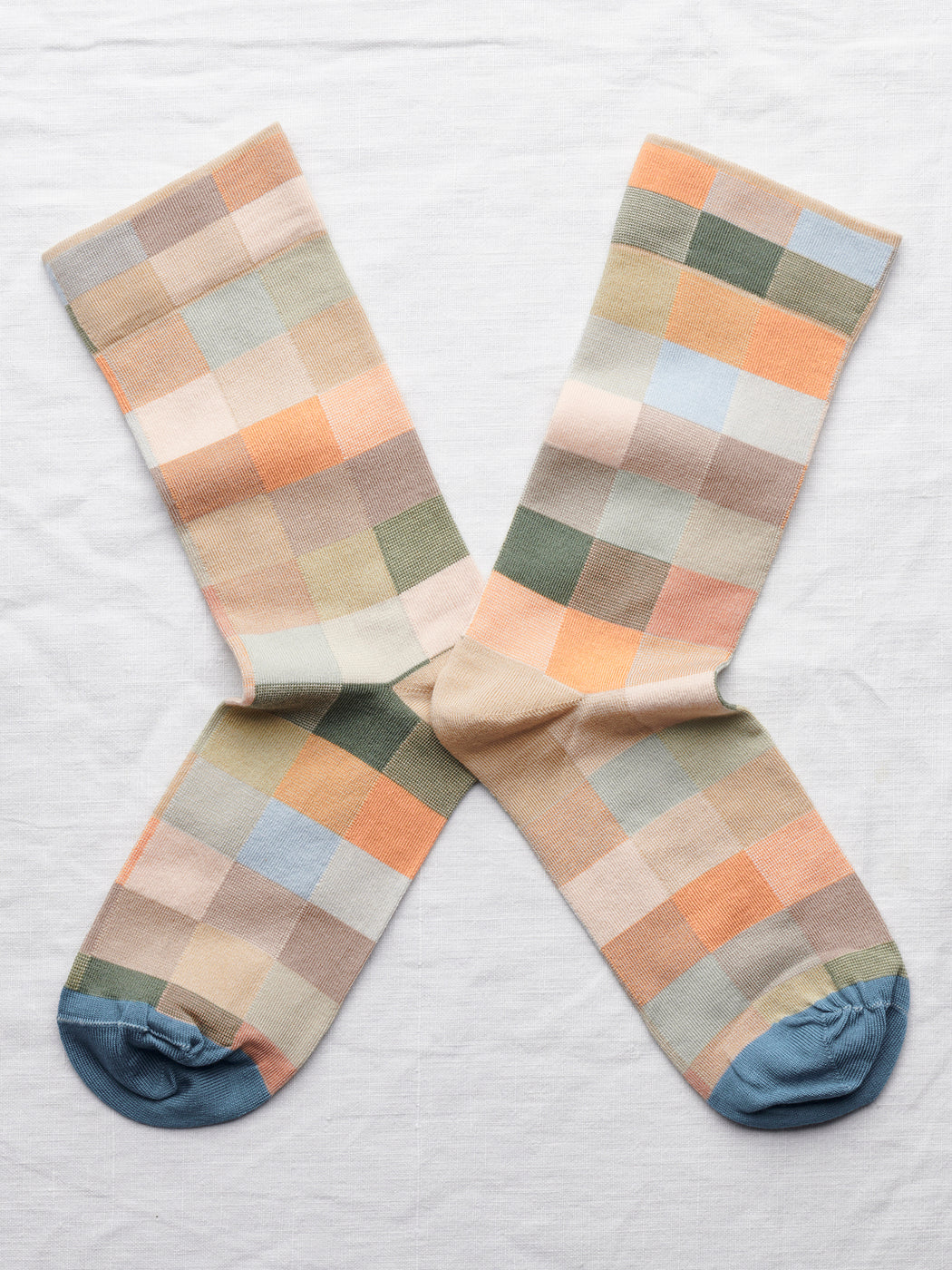 Multi-coloured Pastel Socks from Bonne Maison | Lifestyle curated by Wolf & Moon