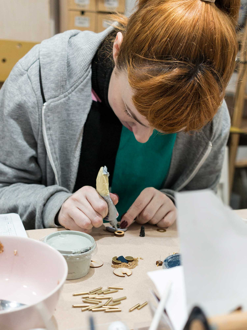 Charm Hoop Earrings Workshop (December 2019)
