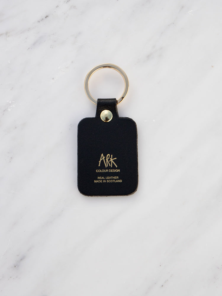 Willy Key Ring in Black