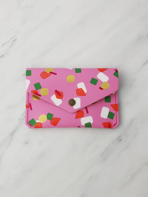 Tutti Frutti Popper Purse in Pink