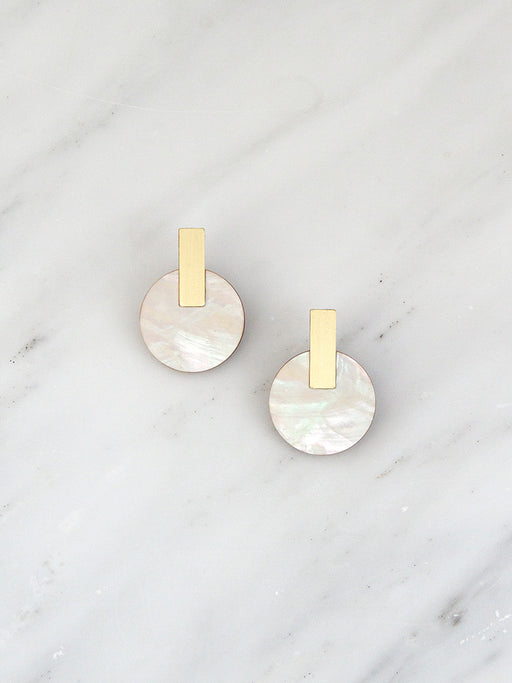 Aura Studs | Original statement earrings handmade by Wolf & Moon