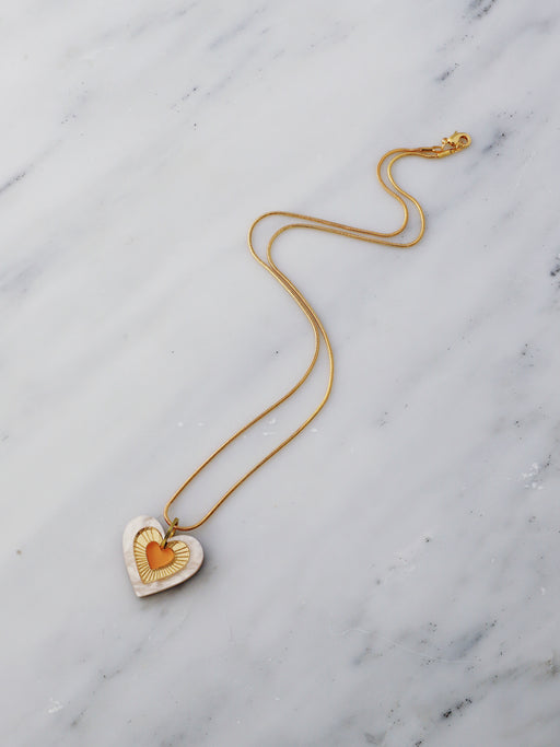 Ava Necklace in Orange *Limited Edition*