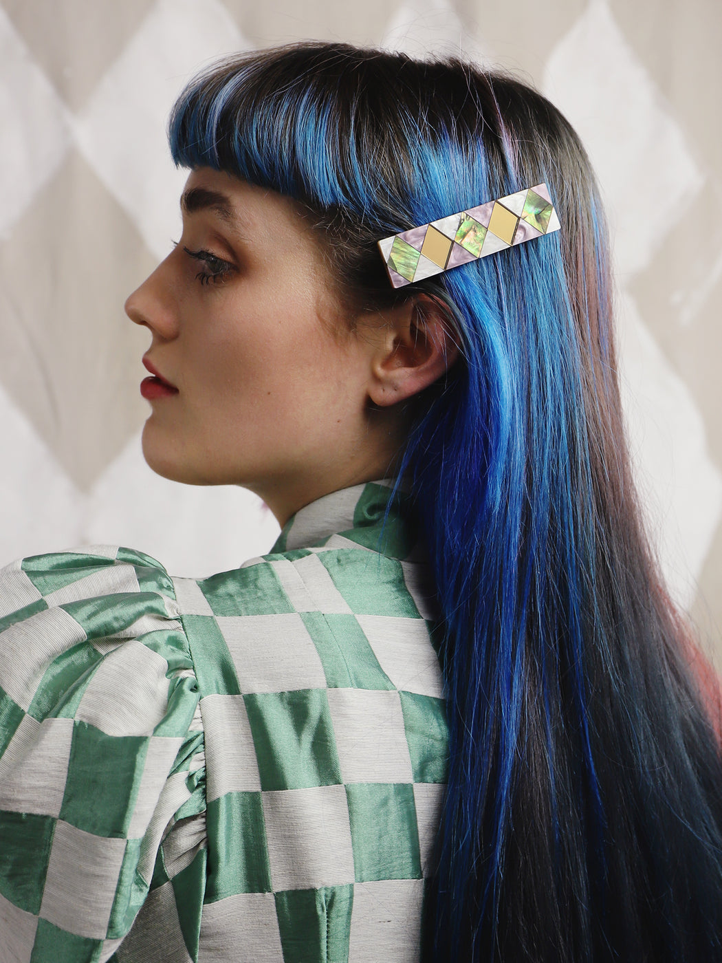 Carlotta Hair Clip | Statement jewellery handmade in the U.K. by Wolf & Moon