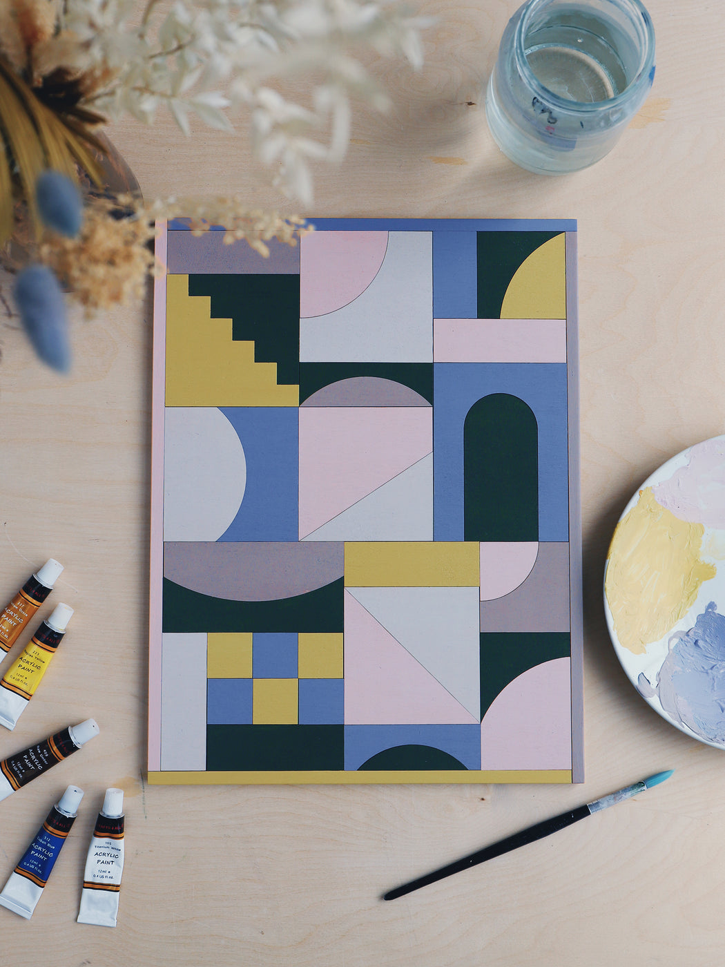 Casa No.1 - Paint Your Own Puzzle & Wall Hanging