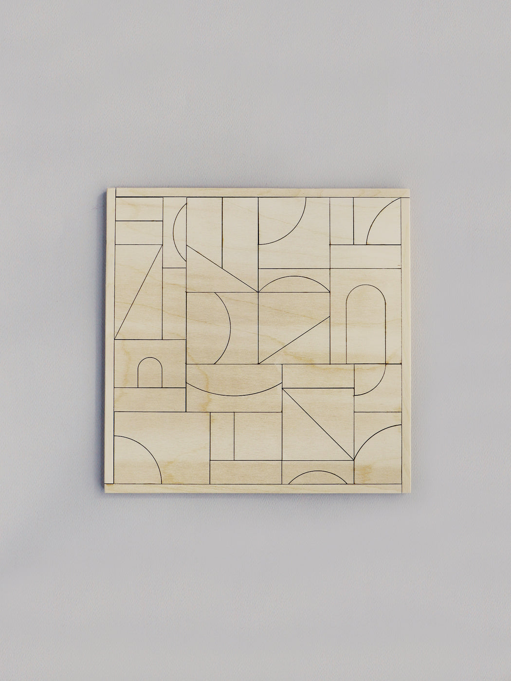 Casa No.2 - Paint Your Own Puzzle & Wall Hanging