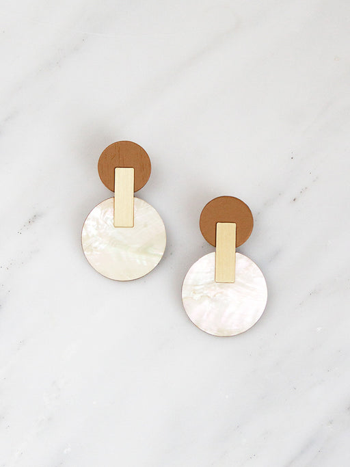 Celeste Earrings | Original statement jewellery handmade by Wolf & Moon
