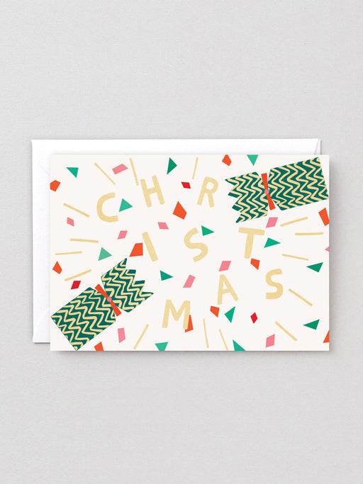 Christmas Cracker Greetings Card
