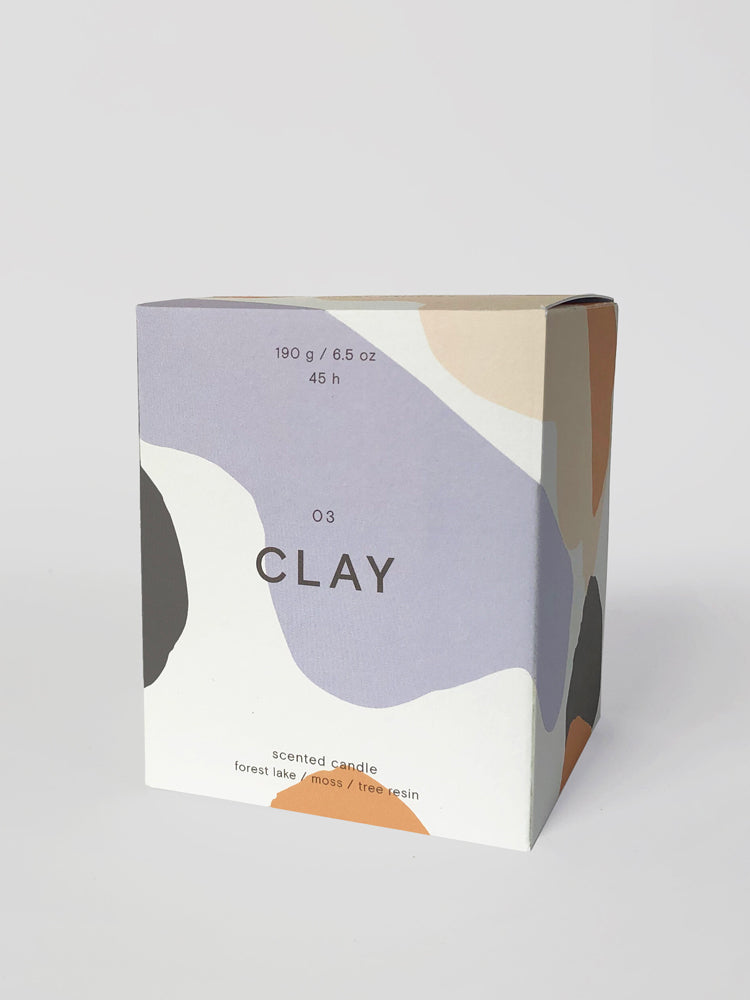 'Clay' Scented Candle