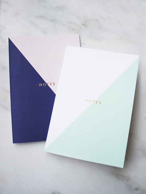 A5 Colour Block Notebook