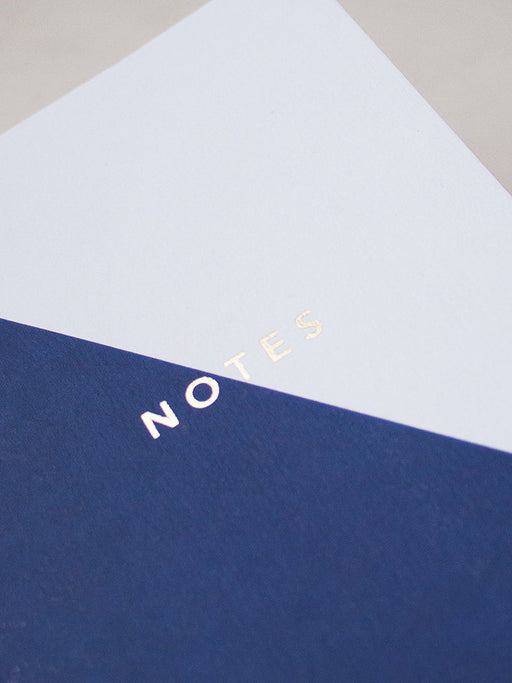 A6 Colour Block Notebook. Lifestyle curated by Wolf & Moon.