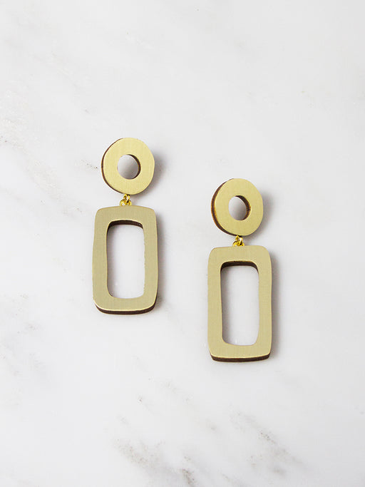 Ellsworth Drop Earrings by Wolf & Moon