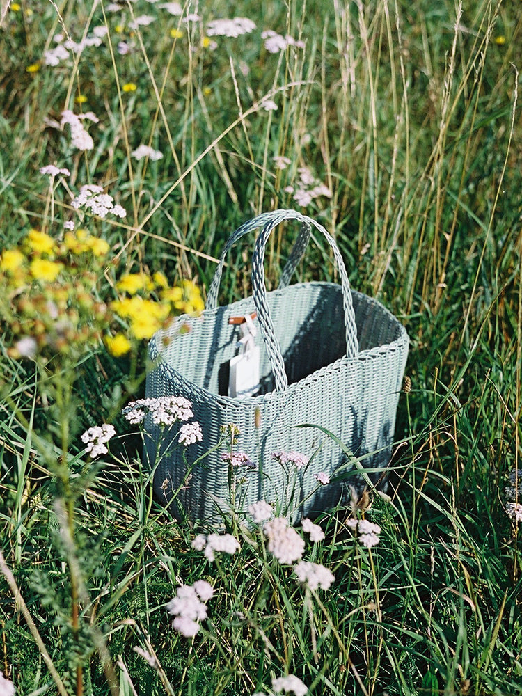 Small Basket Bag - Eucalyptus