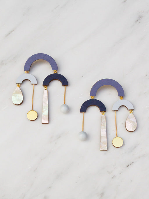 Fountain Earrings
