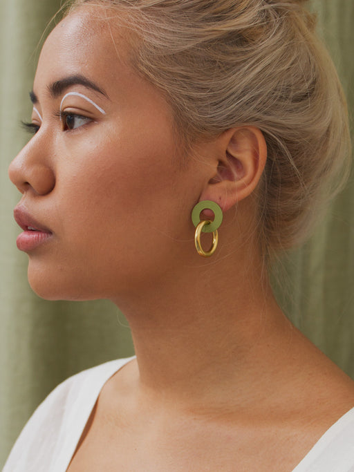 Isla Earrings in Apple