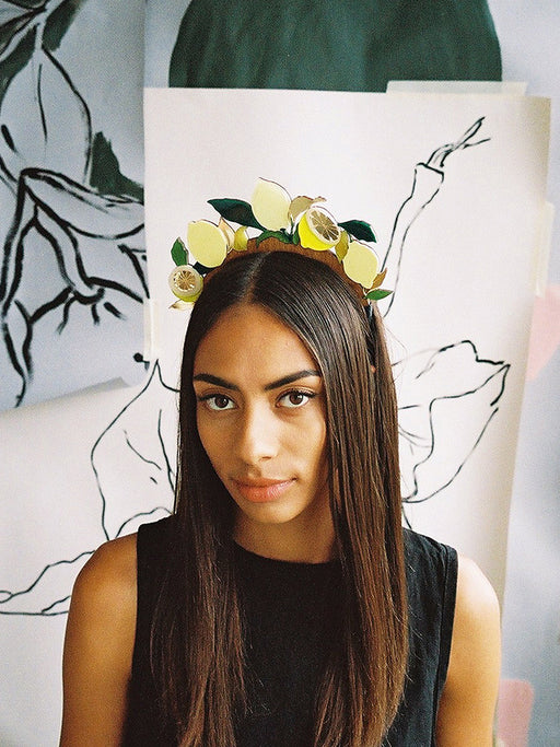 Lemon Headpiece