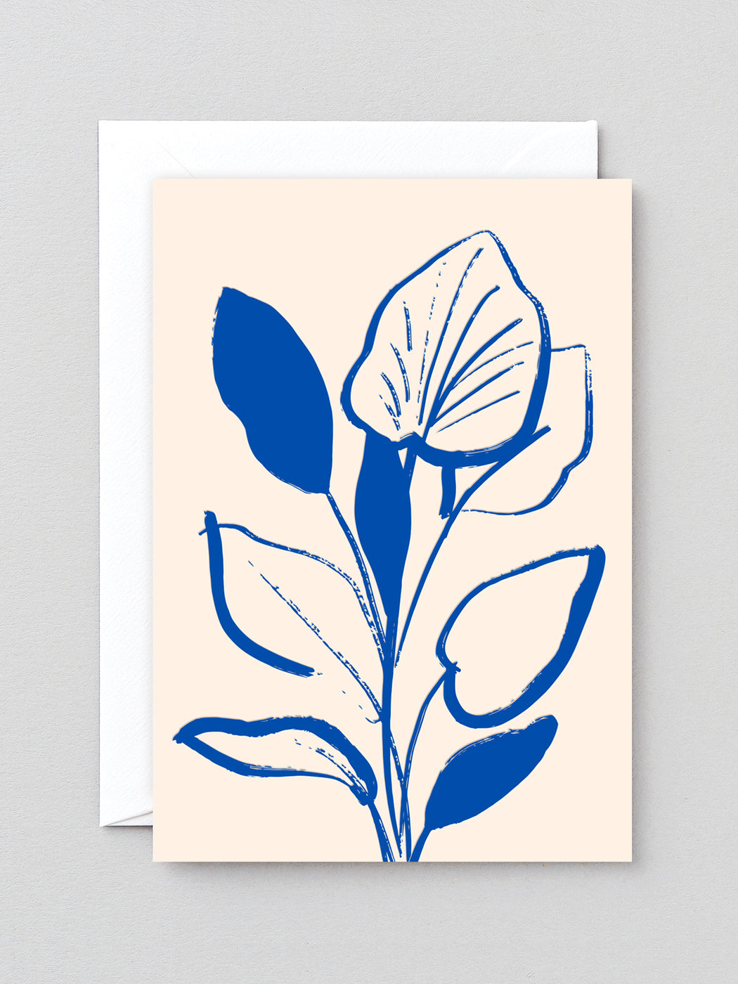 Lilly Study Greetings Card