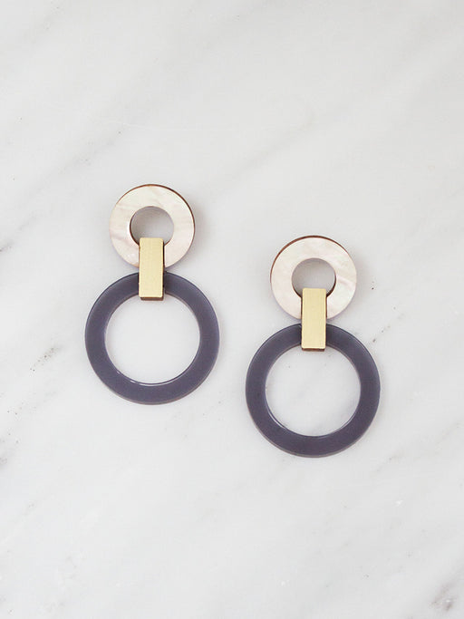 Lora I Earrings | Original statement earrings handmade by Wolf & Moon