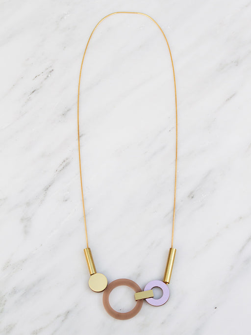 Lora Necklace in Coffee