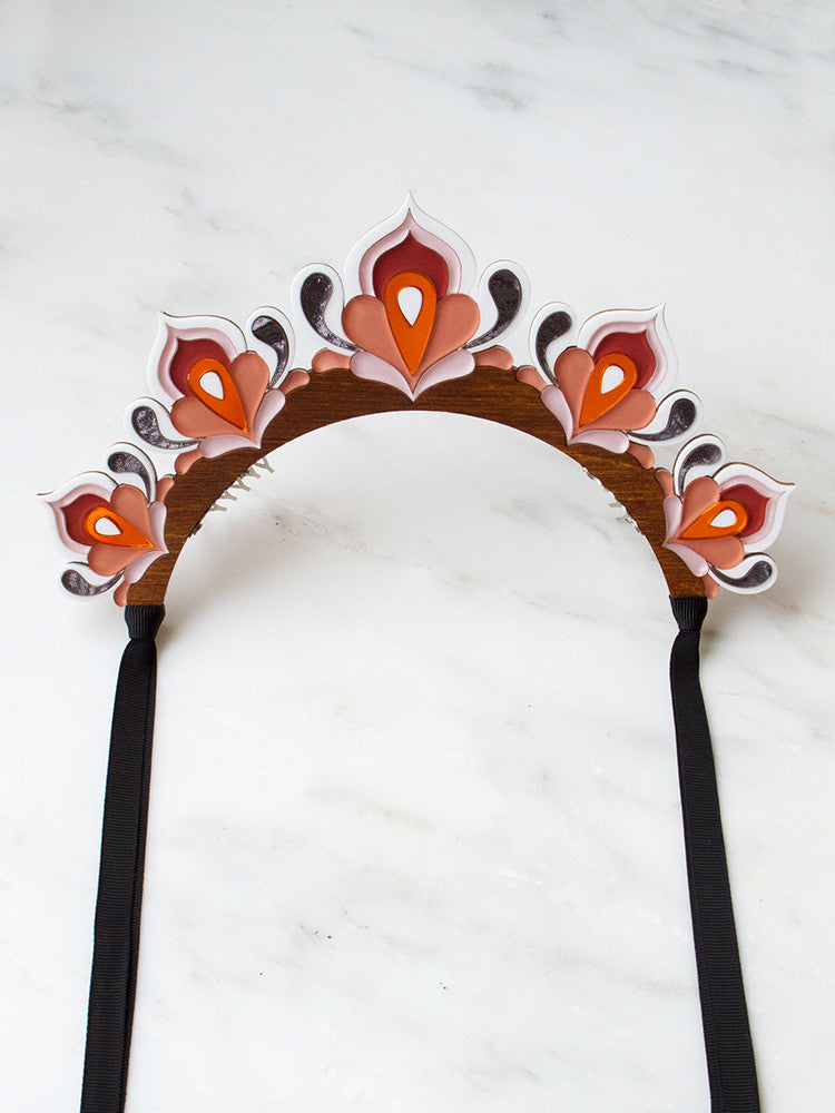 Lotus Headpiece