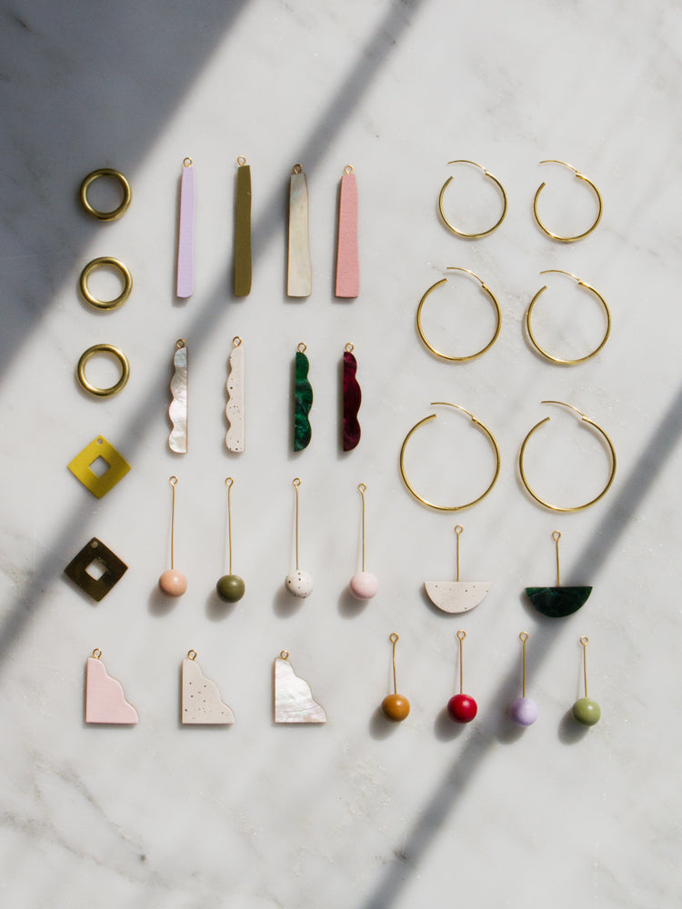 Charm Hoop Earrings Workshop (February 2020)