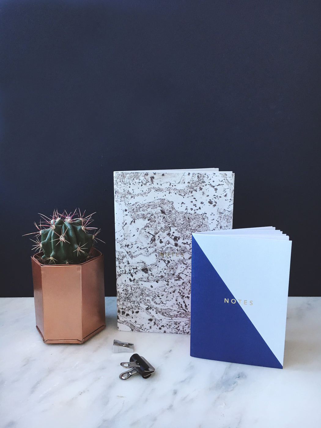A6 Colour Block Notebook