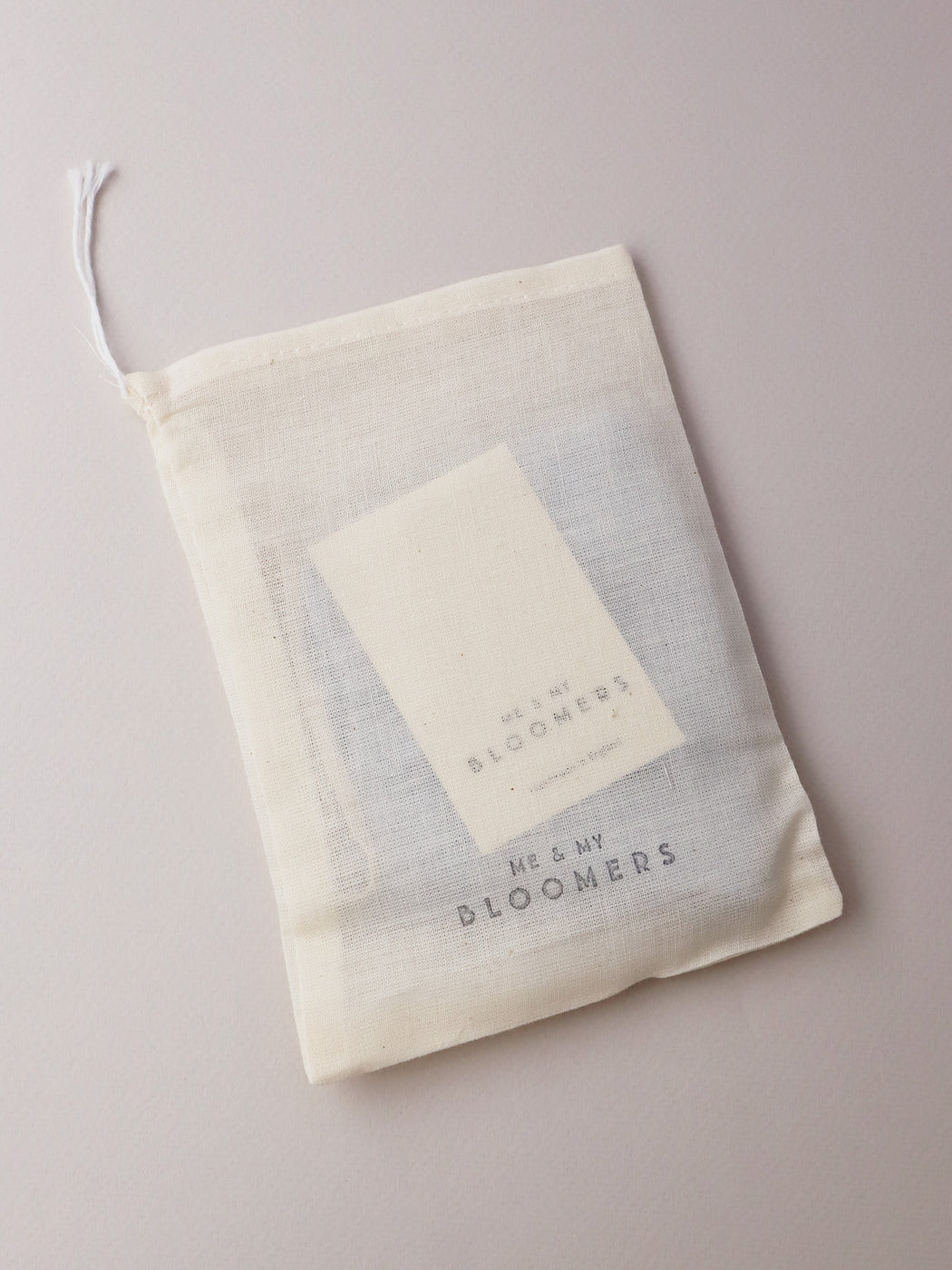 Natural Dyed Linen Face Mask - Pale Blue
