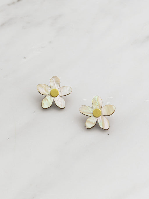 Mini Orange Blossom Studs