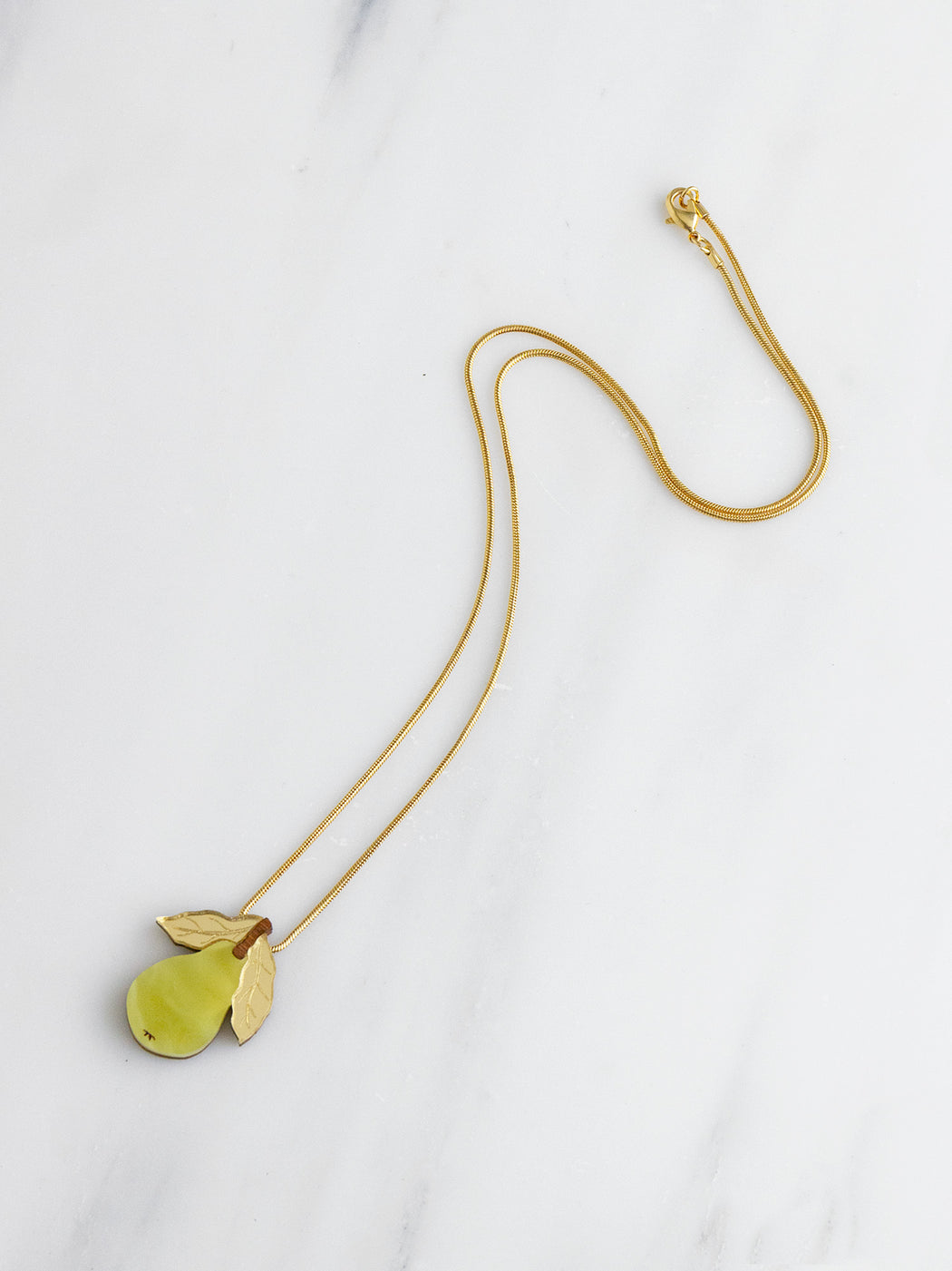 Mini Pear Necklace