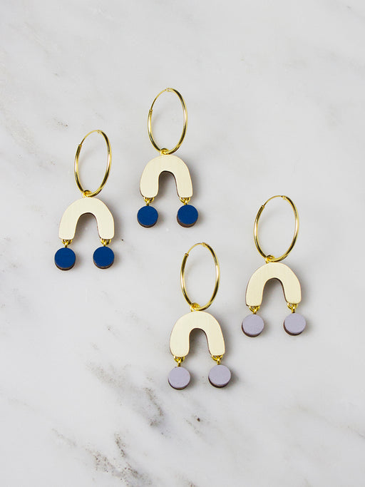 Miro Hoops by Wolf & Moon